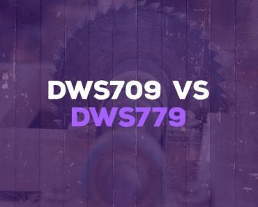 DWS709 vs DWS779