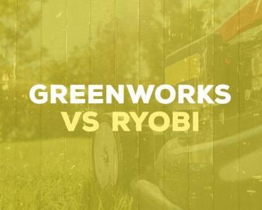 Greenworks vs Ryobi