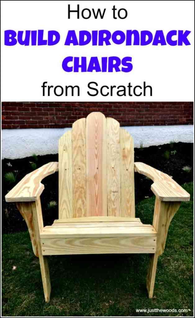 DIY Adirondack Chairs Now you can build your own Adirondack chairs in your shop. Imagine relaxing after a long day on chairs that you made yourself! Grab your materials, fix an iced tea and get to work making some of these gorgeous chairs! These would also be really nice gifts or crafts that you could sell. thesawguy.com