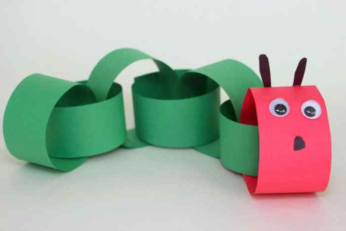 Hungry Caterpillar Craft If you have read The Very Hungry Caterpillar to your kids, they will be ecstatic when they find out you are going to make your ownhungry caterpillar! You will just need some basic supplies like paper, scissors and googly eyes. Happy crafting! thesawguy.com