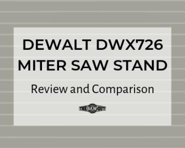 DEWALT DWX726 MITER SAW STAND