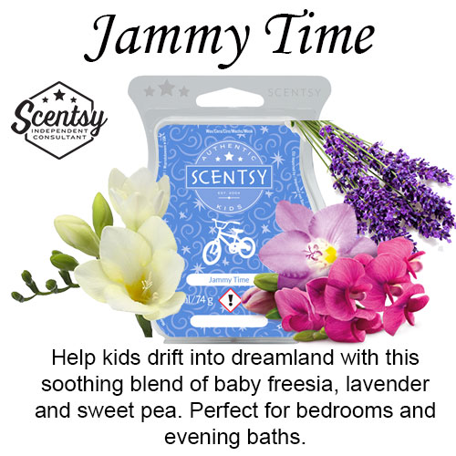 Jammy Time Scentsy Wax Bar – Our best selling wax product