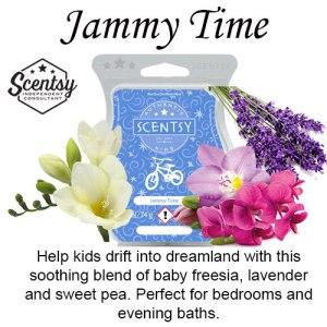 Jammy Time Scentsy Bar