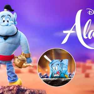 Disney Genie – Scentsy Buddy and Disney Aladdin: Three Wishes – Scent Pak