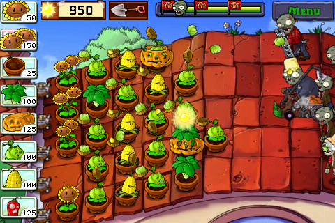 PvZ Battle for the roof
