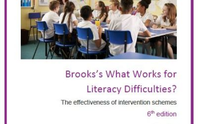 What Works for Literacy Difficulties – 6th edition