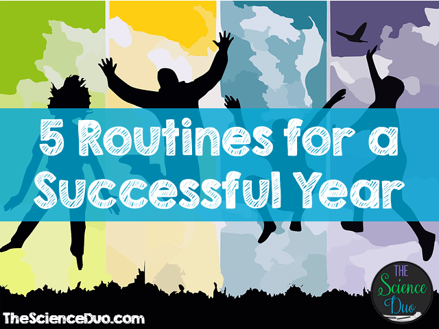 5 Classroom Routines for a Successful Year