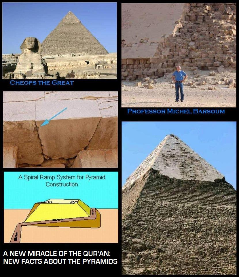 A NEW MIRACLE OF THE QURAN: NEW FACTS ABOUT THE PYRAMIDS