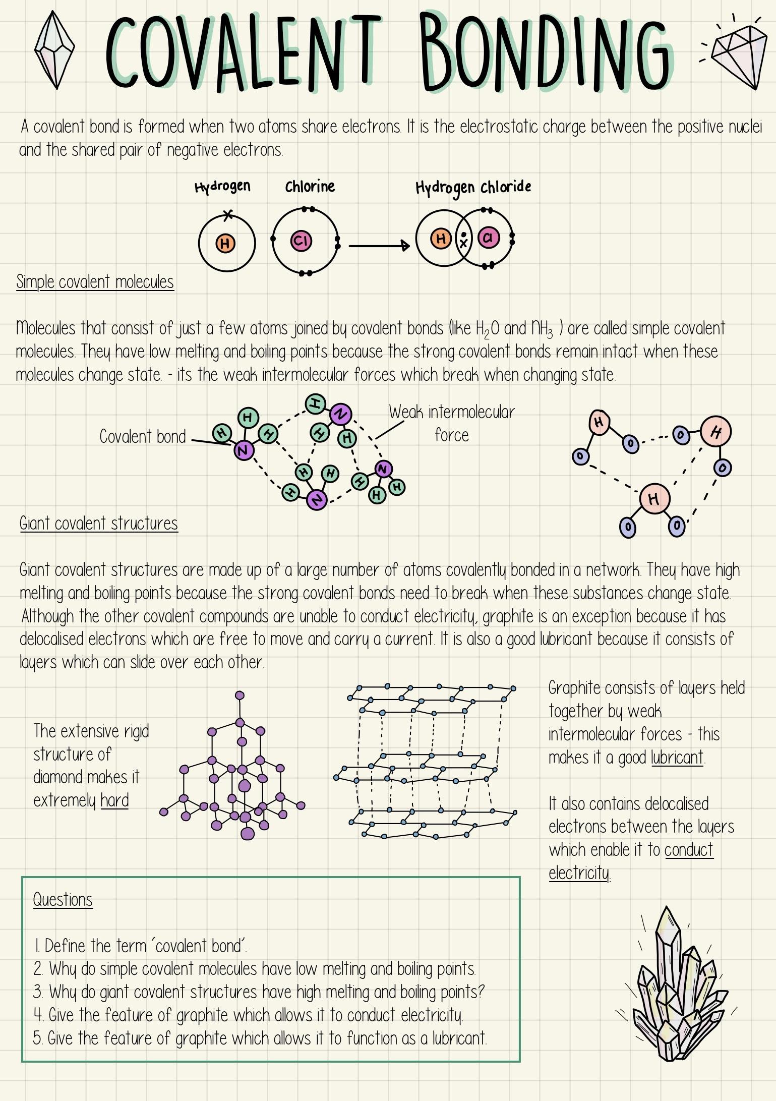 Covalent Bonding Gcse