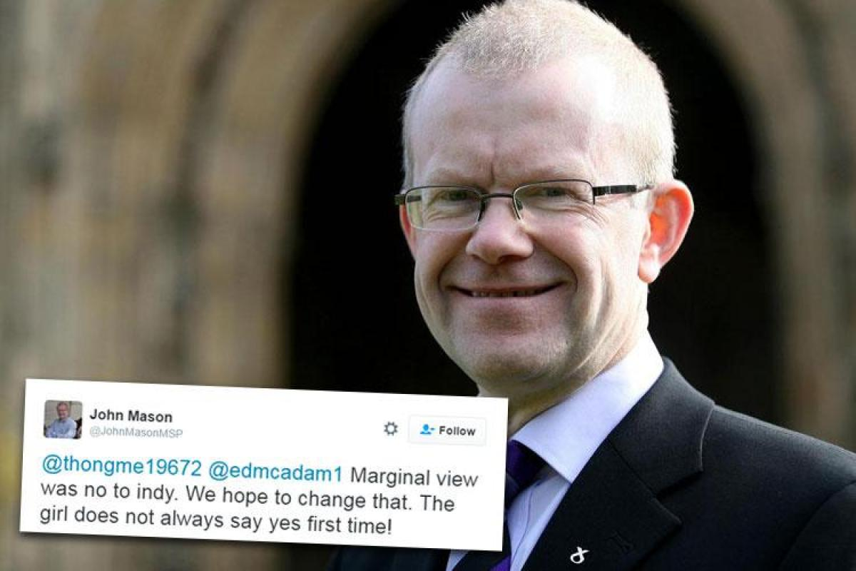 Image result for john mason msp