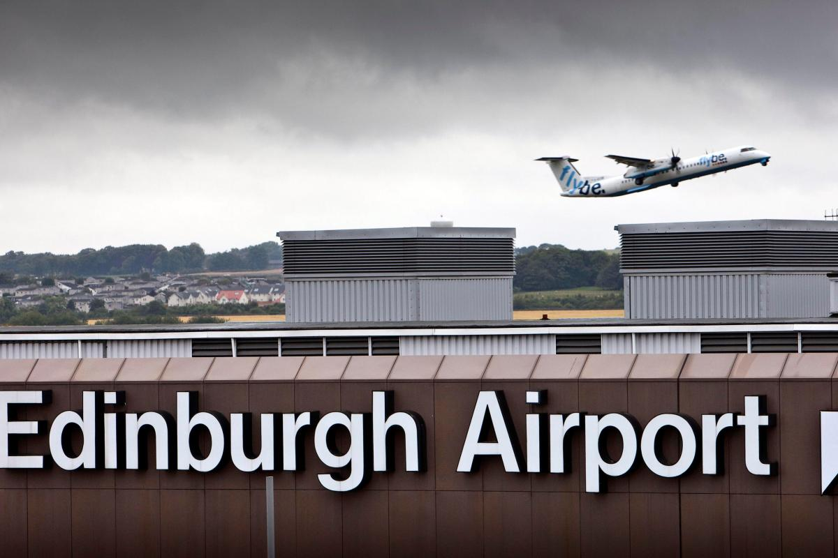 Flybe Flight From Exeter To Edinburgh Grounded After Emergency
