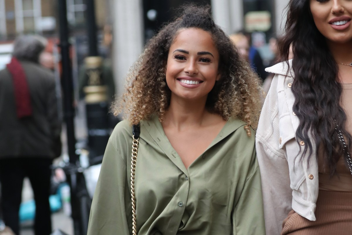 Love Island's Amber Gill slams 'former best friend' Ellie Brown for dating her ex Michael Griffiths