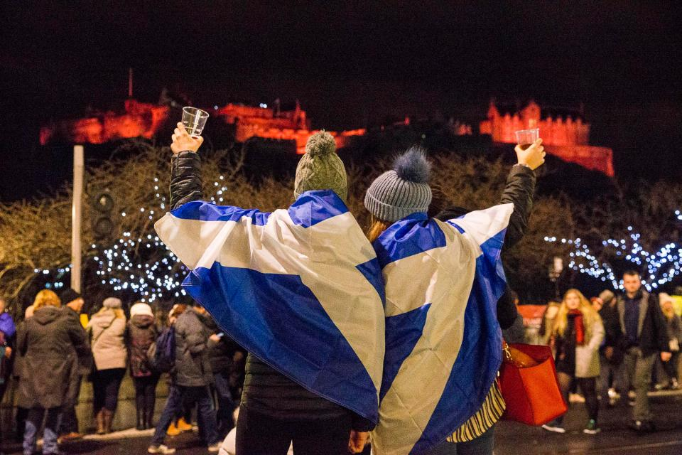 What is Hogmanay, where does the name come from, how is New Year's Eve  celebrated in Scotland and what is the Edinburgh street party?