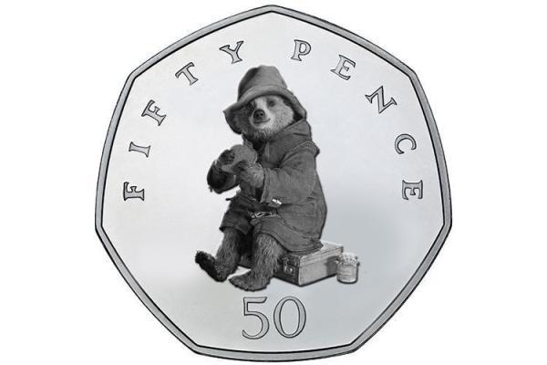 paddington bear 50p coins # 30