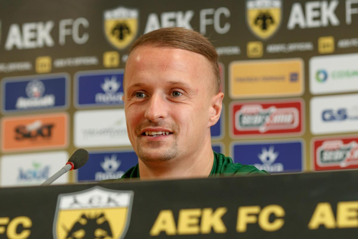 Celtic star Leigh Griffiths says AEK Athens fans won't get in his head as he hop...