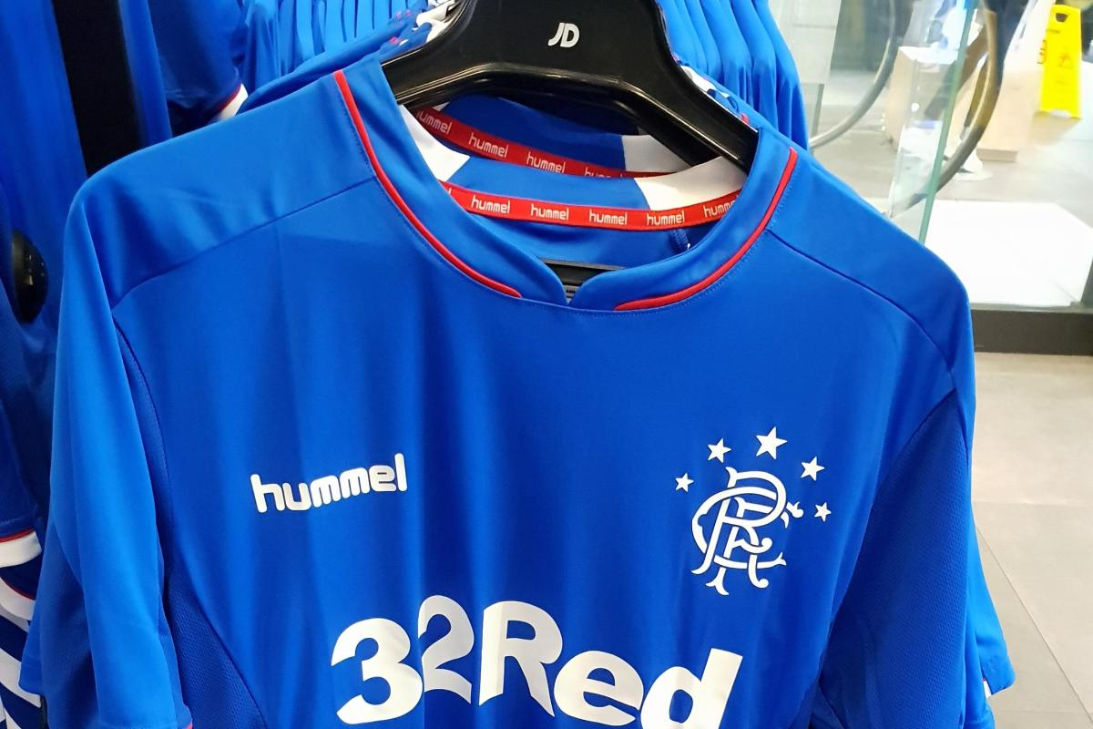 Rangers kit release – Hummel strips go on sale in JD Sports.. and they are £5 cheaper than club website