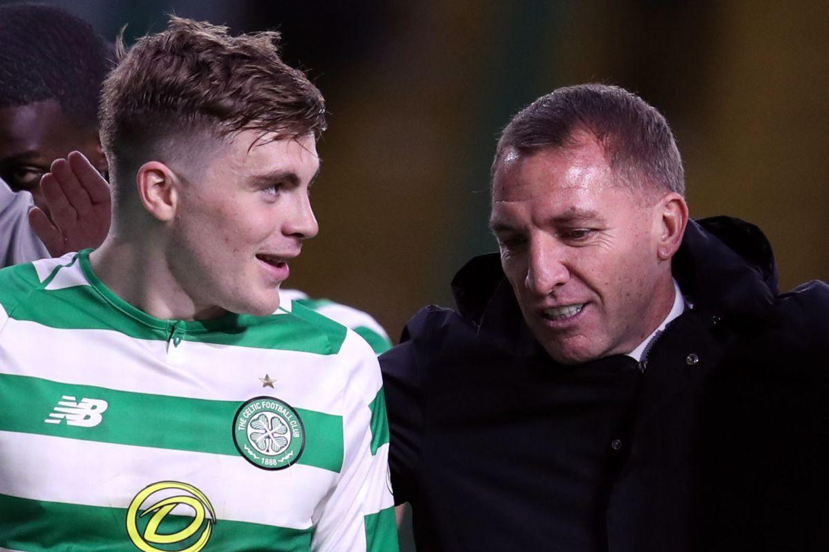 Brendan Rodgers hails Celtic star James Forrest as a 'remarkable player'