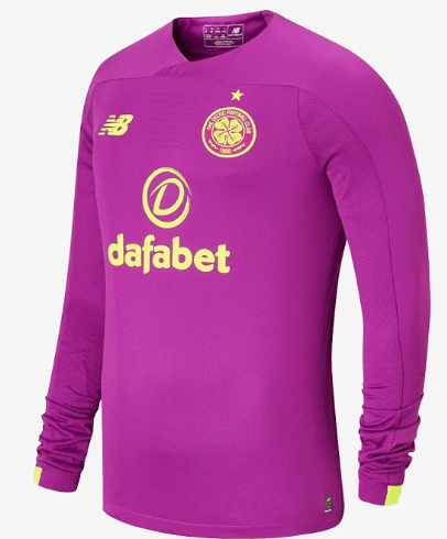Leaked image of potential Celtic away goalie top