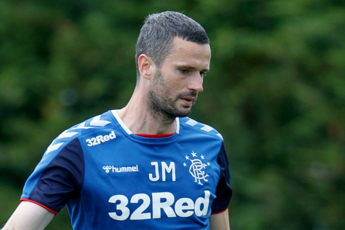 Rangers gaffer Steven Gerrard says Jamie Murphy could be sent out on loan