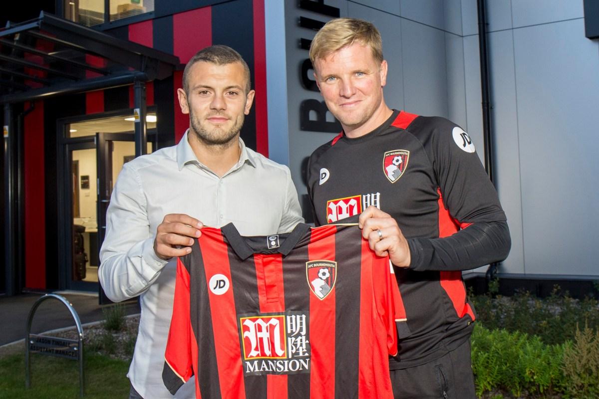 Eddie Howe hails 'brilliant' Jack Wilshere for taking Bournemouth to next level