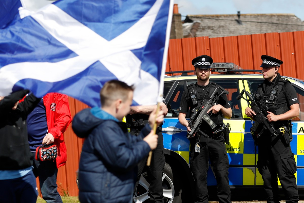 EU states who work with Police Scotland say force will be 'cut-off' after Brexit