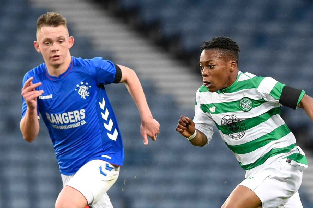 Celtic and Rangers will face off in Youth Cup second round Old Firm tie