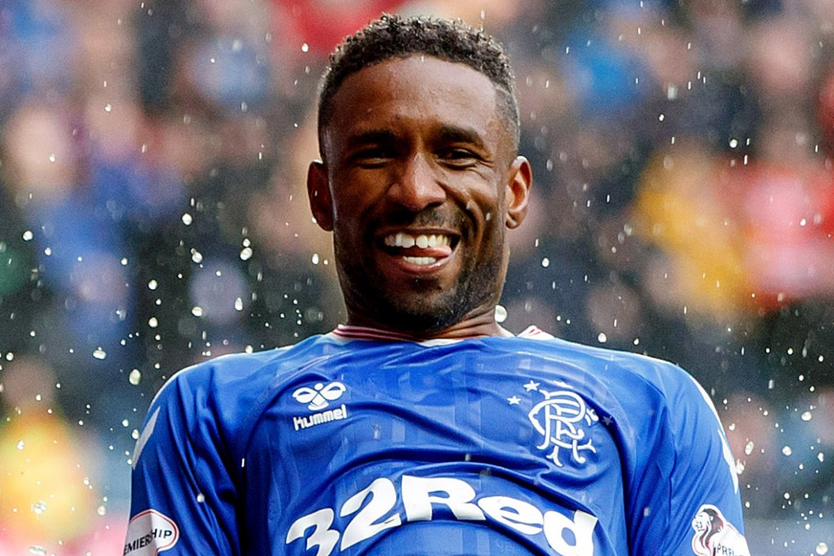 Rangers ace Jermain Defoe voted fourth most popular footballer in UK