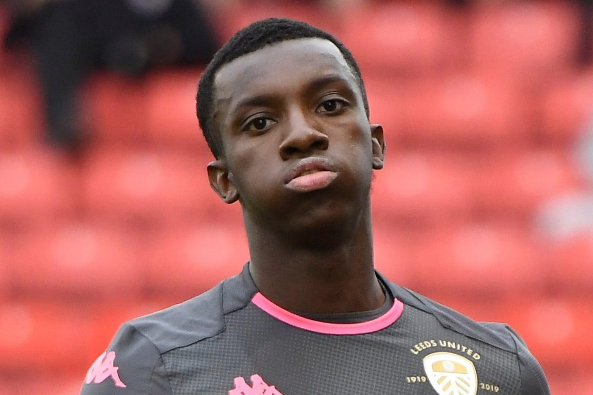 Arsenal loanee Eddie Nketiah unhappy at Leeds and demands more game time