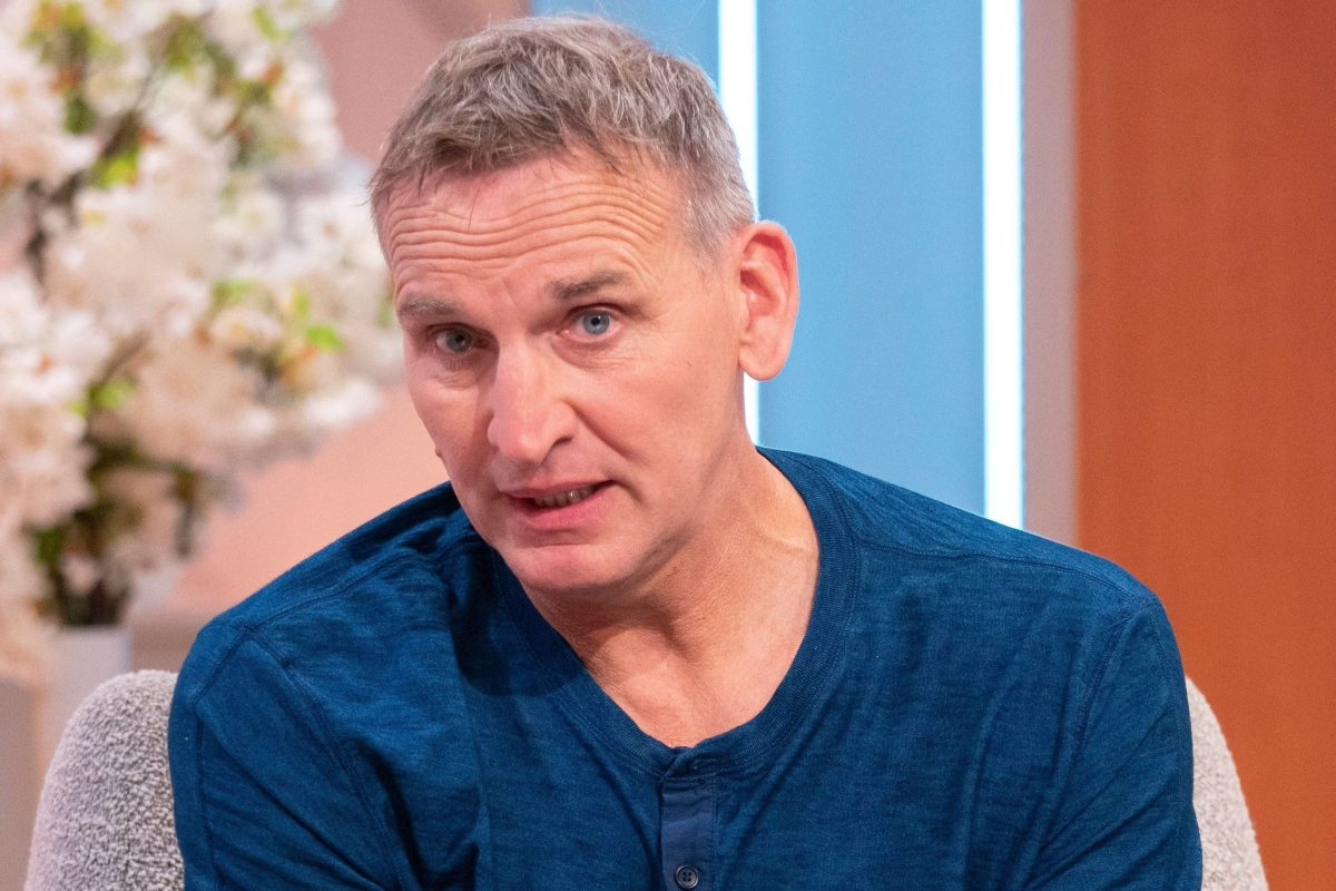 Doctor Who's Christopher Eccleston reveals how growing up with identical twin brothers planted seed of a