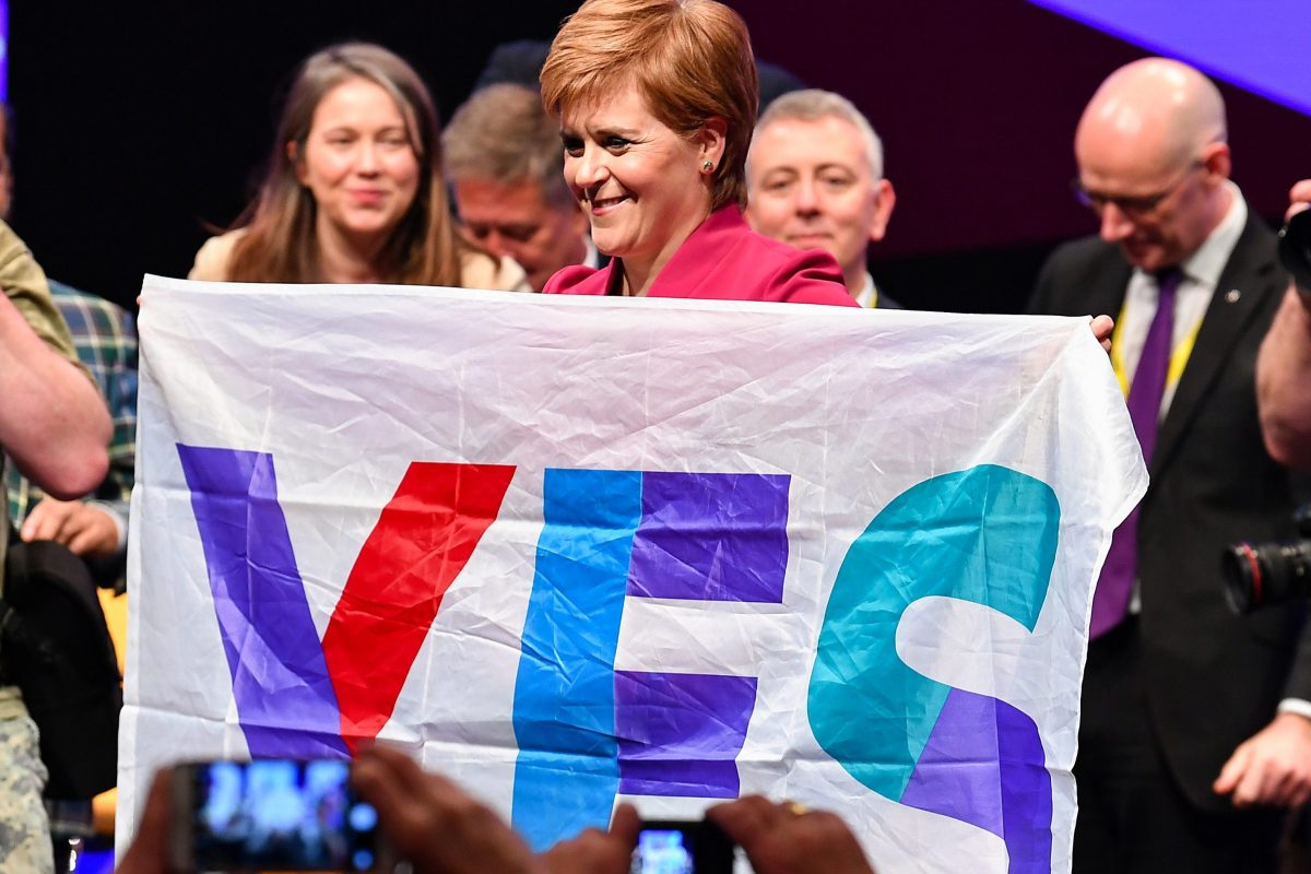 Nicola Sturgeon's plans for General Election are clear – a vote for the SNP is a vote for Scottish Ind