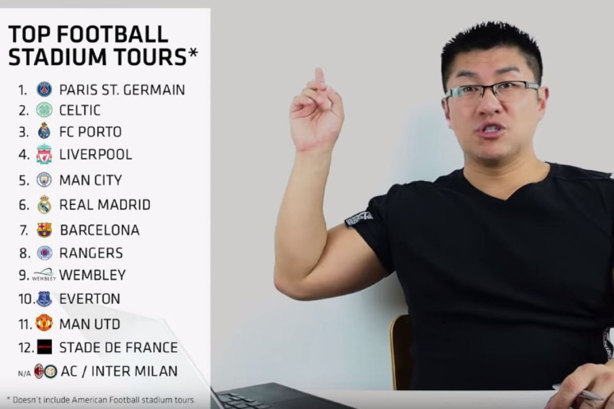 YouTuber who did Celtic and Rangers tours in rivals' tops rates Parkhead second behind PSG