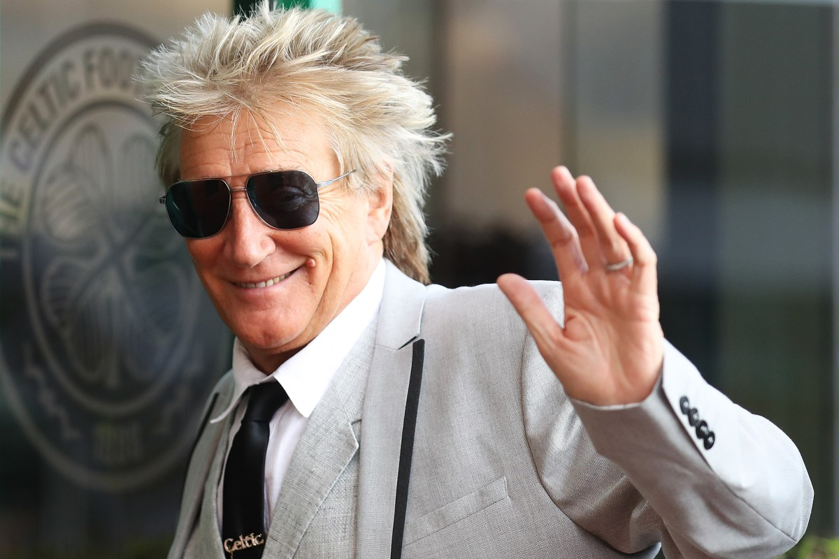 'F*** off Rod' Celtic's Green Brigade aim banner blast at Rod Stewart after Tory post