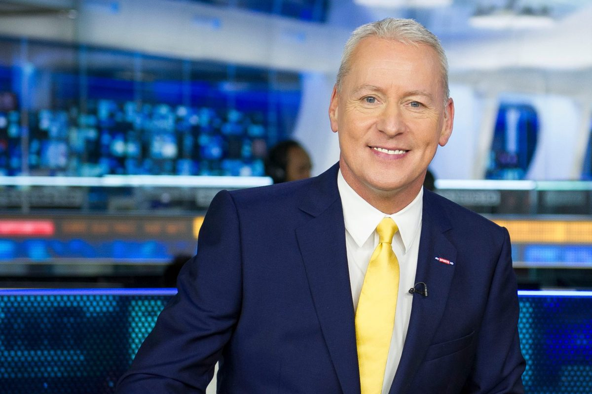 Sky Sports presenter Jim White reveals he gave up alcohol after Graeme Souness warned he was boozing too much