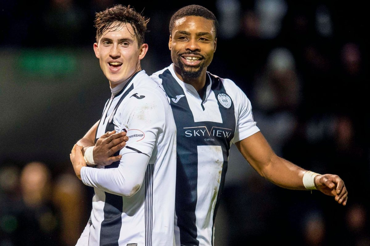 St Mirren 3 Broxburn Athletic 0 – Jon Obika and Danny Mullen dump East of Scotland outfit