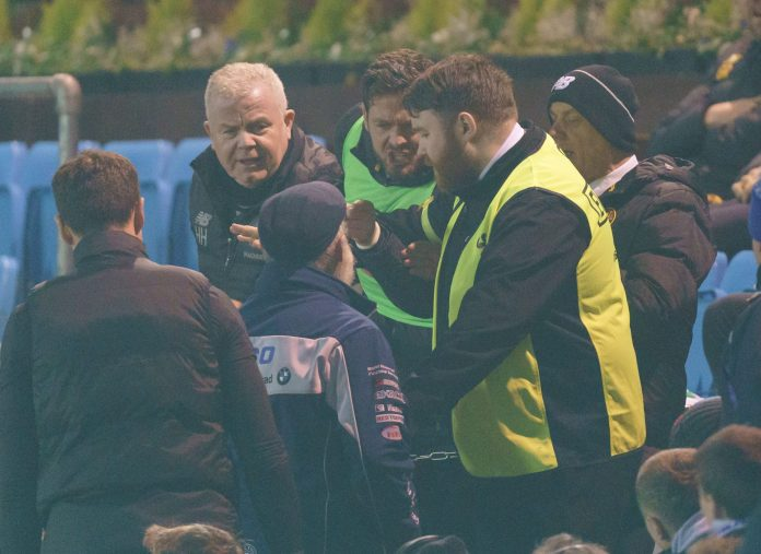 Tensions escalate at Rugby Park during Kilmarnock-Celtic clash