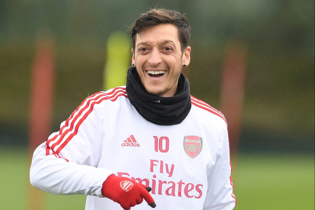 Ozil 'really happy' at Arsenal and does not want summer exit, says agent