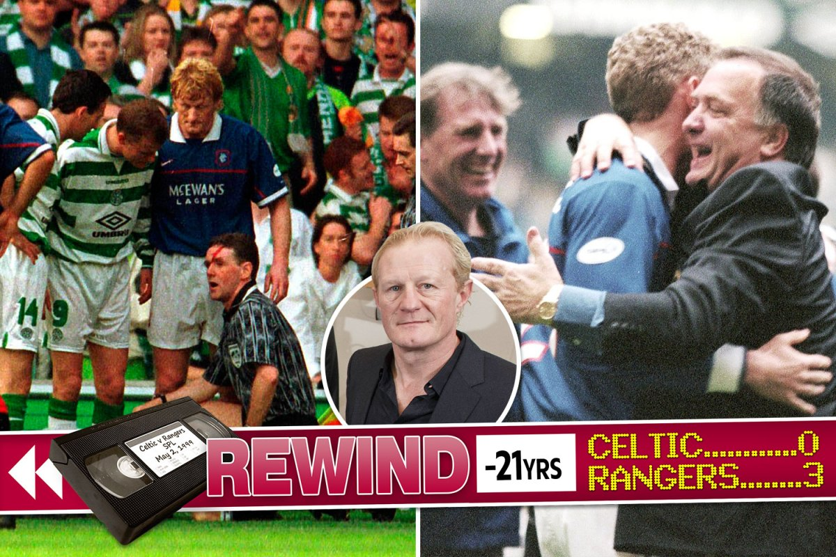 Looking Back Rangers Hero Hendry Recalls Title Win Over Celtic In 1999 Old Firm Shame Game