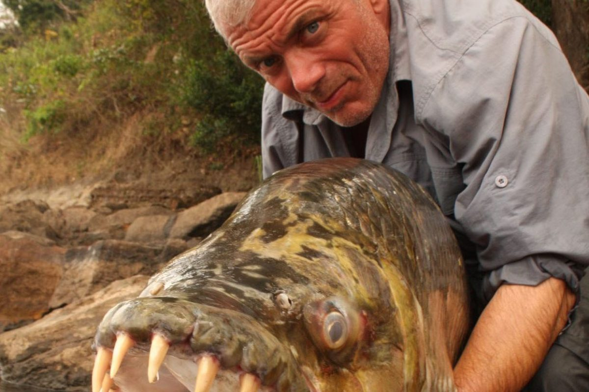 River Monsters legend Jeremy Wade admits he dreams of catching Loch Ness Monster