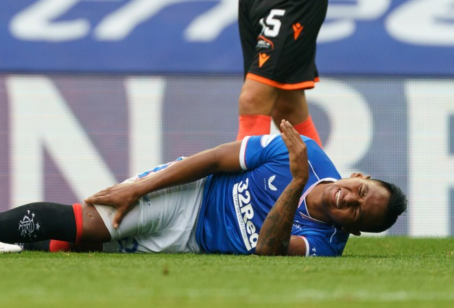 Morelos is left in agony following the horror challenge