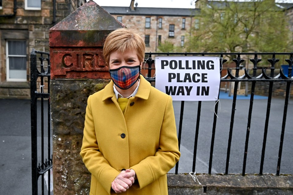 The First Minister currently holds the constituency