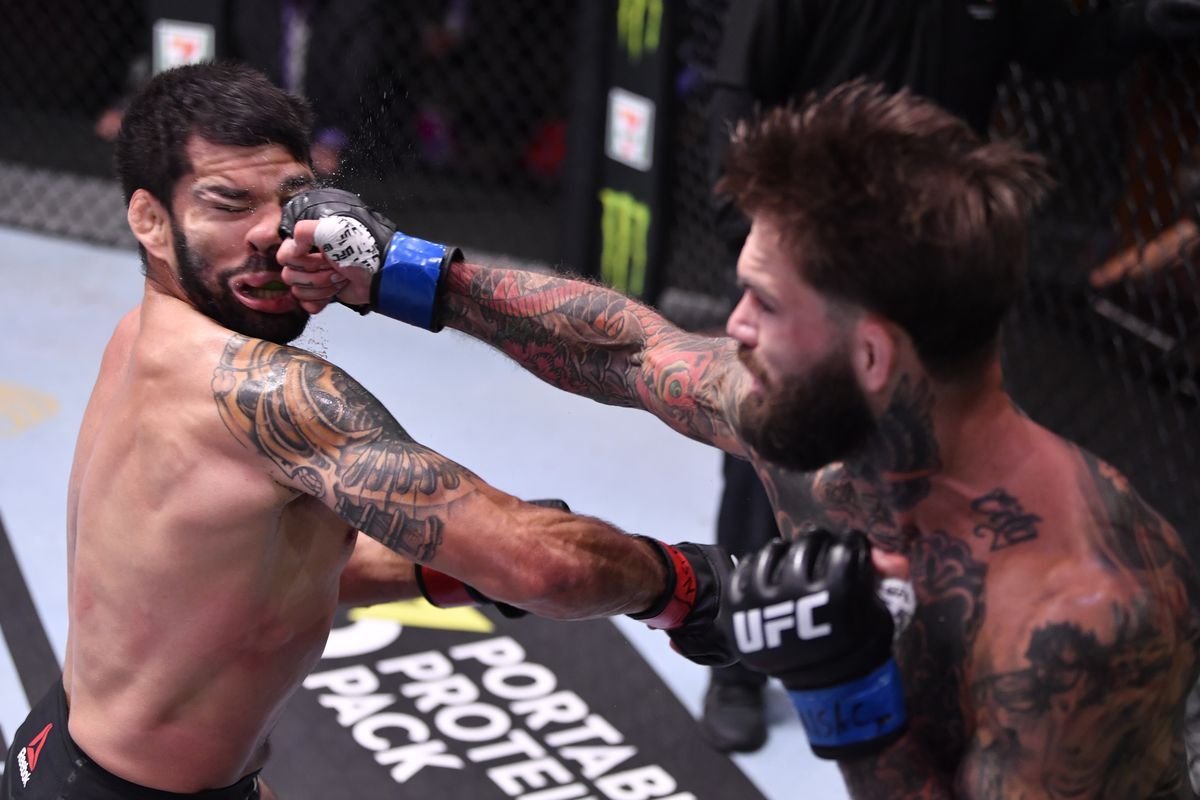 The Scrap's 2020 Knockout of the Year: Cody Garbrandt's buzzer beater KO at  UFC 250