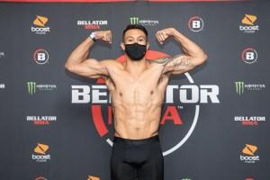 Ty Gwerder Weigh-in at Bellator 246