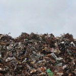 Picture of a scrap yard for metal recycling