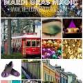 Madge's Style Tile Mardi Gras Magic