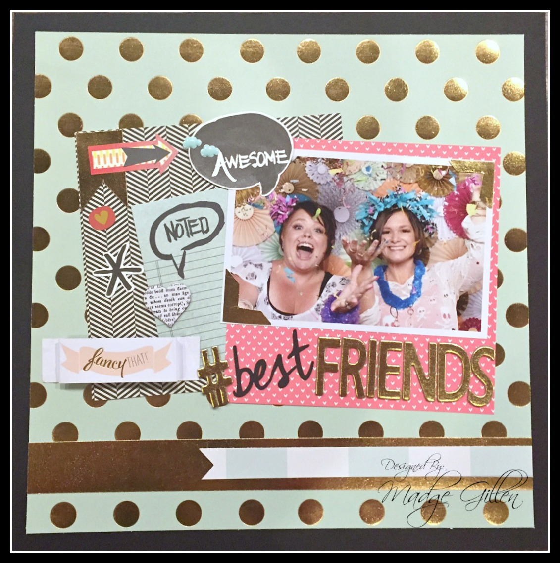 #Best Friends Layout 1