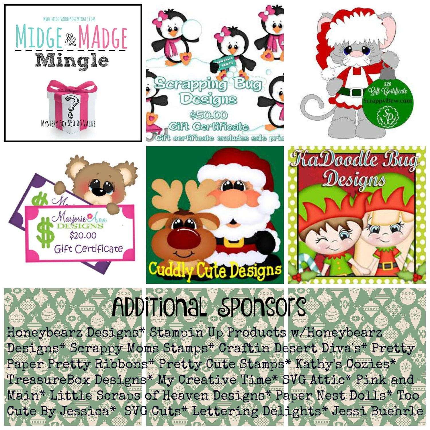 12 Days of Christmas Blog Hop Sponsor 2015