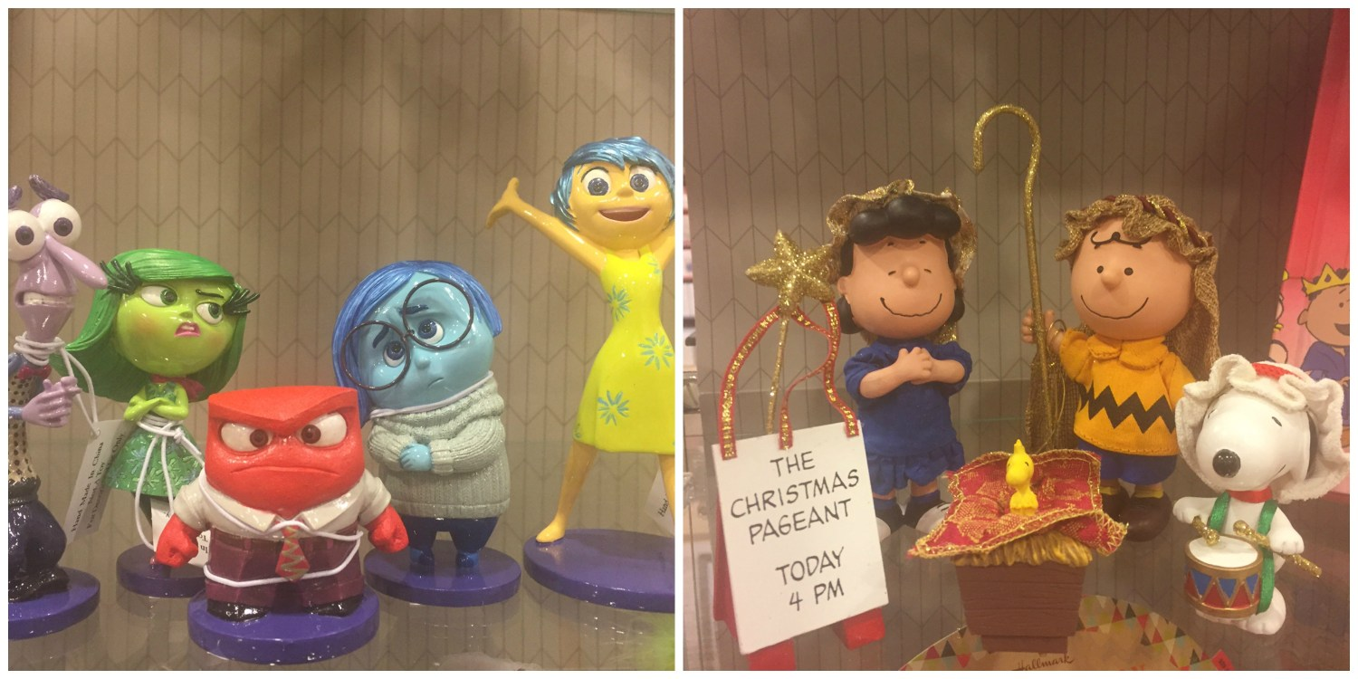 Inside out and Charlie Brown