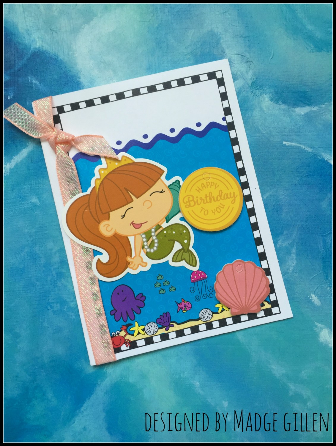 mermaid card