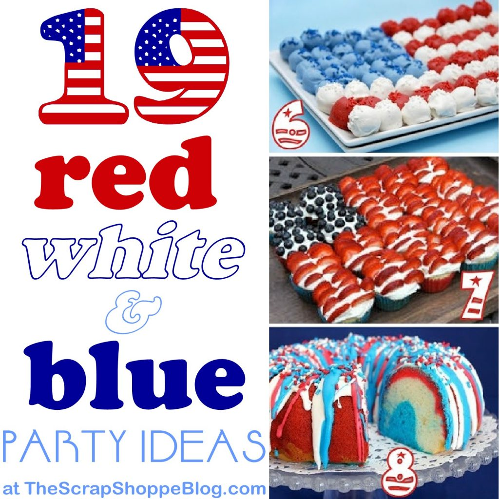 19 Red White Amp Blue Party Ideas