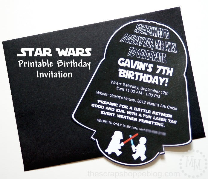 star wars darth vader birthday